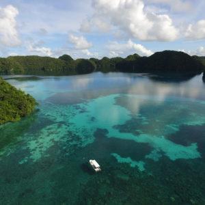 Palau Island View. Photo by: Heidi Hirsh, Stanford University